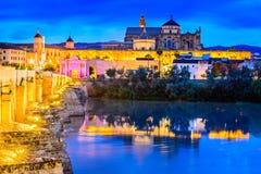 Córdova - catedral Mezquita, a Andaluzia, Espanha Imagens de Stock