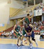 CÓRDOVA, ESPANHA - 14 DE SETEMBRO: APOSTA TOMIC B (44) na ação durante o FC Barcelona do fósforo (b) contra os CB Sevilha (g) (91 Imagens de Stock