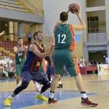CÓRDOVA, ESPANHA - 14 DE SETEMBRO: ONDREJ BALVIN G (12) na ação durante o FC Barcelona do fósforo (b) contra os CB Sevilha (g) (9 Imagens de Stock