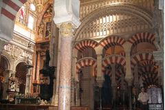 Córdova - Mesquita Imagem de Stock