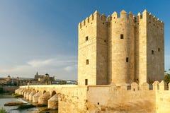 Córdova Ponte romana imagens de stock royalty free