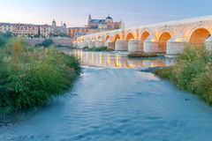 Córdova Ponte romana fotografia de stock