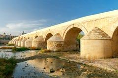 Córdova Ponte romana imagem de stock royalty free