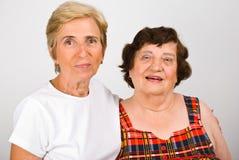 córek starsze osoby dorośleć matki Obraz Royalty Free