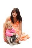 Córka i jej mama Obrazy Royalty Free