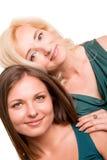 Córka i jej matka fotografia stock