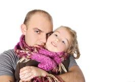 córka ojciec fotografia royalty free
