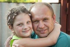 córka ojciec Fotografia Stock