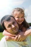 córka ojciec Obrazy Stock