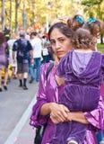 córki gypsy jej kobieta Zdjęcie Royalty Free