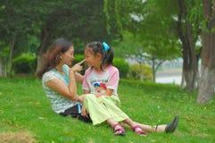 córki matki bawić się Fotografia Royalty Free
