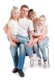 córki rodzina zdjęcia stock