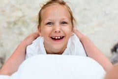 córki szczęśliwi macierzyści portreta wakacje potomstwa Zdjęcia Stock