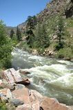 Córrego 13 da montanha de Colorado imagens de stock