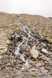 Córrego acima de Saas-Grund Imagens de Stock