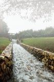 Córrego artificial Foto de Stock Royalty Free