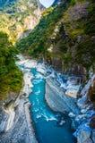 Córrego azul brilhante Foto de Stock Royalty Free