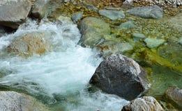 Córrego branco Imagem de Stock