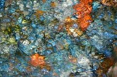 Córrego colorido. Imagens de Stock