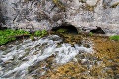 Córrego da caverna Imagens de Stock Royalty Free