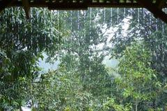 Córrego da chuva Foto de Stock Royalty Free