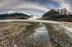 Córrego da geleira de Mendenhall Fotografia de Stock Royalty Free