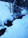 Córrego 1 da montanha Fotos de Stock