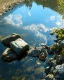 Córrego da montanha do espelho Imagem de Stock