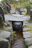 Córrego da montanha em Noruega Foto de Stock Royalty Free