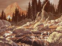 Córrego de Colorado ilustração stock