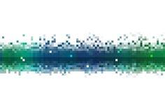 Córrego de dados abstrato Imagens de Stock Royalty Free