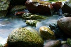 Córrego de seda 2 da água Fotografia de Stock