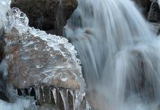 Córrego do gelo Foto de Stock