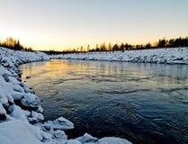 Córrego do inverno foto de stock royalty free