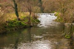 Córrego do rio em Portugal Foto de Stock