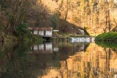 Córrego do rio em Portugal Imagem de Stock Royalty Free