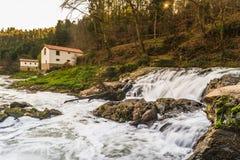 Córrego do rio em Portugal Foto de Stock Royalty Free