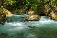 Córrego e cachoeira Foto de Stock Royalty Free