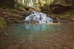Córrego e cascata Imagem de Stock Royalty Free