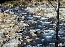 Córrego em Himalayas orientais, Arunachal Pradesh da montanha Fotos de Stock