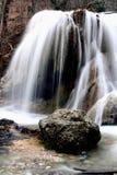 Córrego em Krum na queda Fotografia de Stock Royalty Free