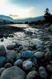 Córrego em Thimphu, Butão Imagens de Stock