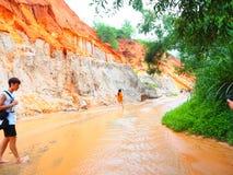 Córrego feericamente Vietnam fotografia de stock