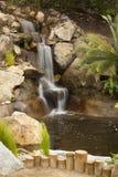 Córrego japonês do jardim do zen Fotografia de Stock