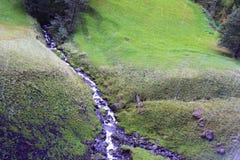 Córrego na montanha Imagem de Stock
