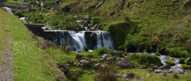 Córrego nas balizas de Brecon Fotos de Stock