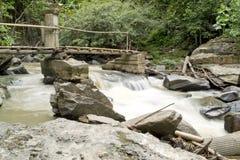 Córrego rochoso Fotos de Stock Royalty Free