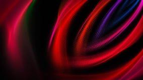 Córregos coloridos largos da luz Fotos de Stock Royalty Free