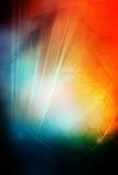 Córregos da luz Imagem de Stock