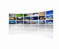 Córregos das imagens fotos de stock